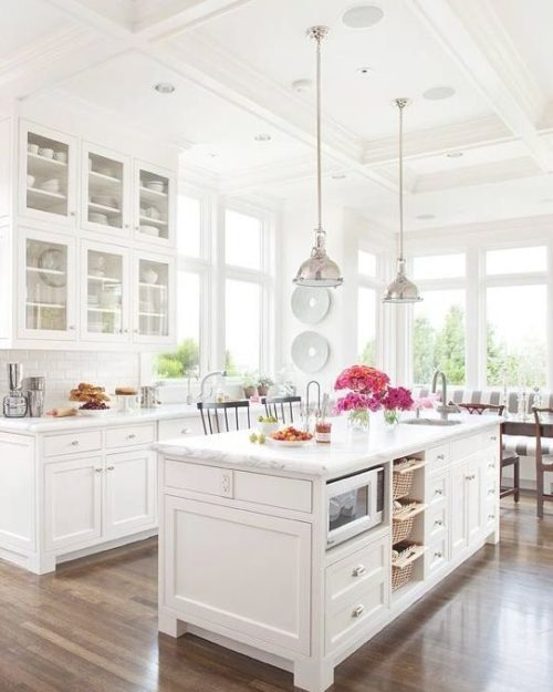 design darling kitchen inspiration all white