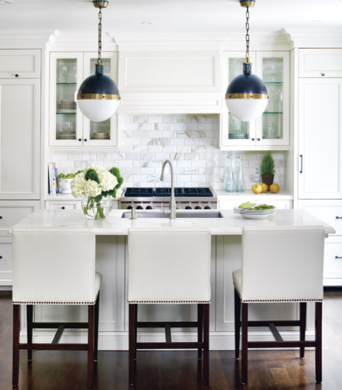 design darling kitchen inspiration navy hicks pendants