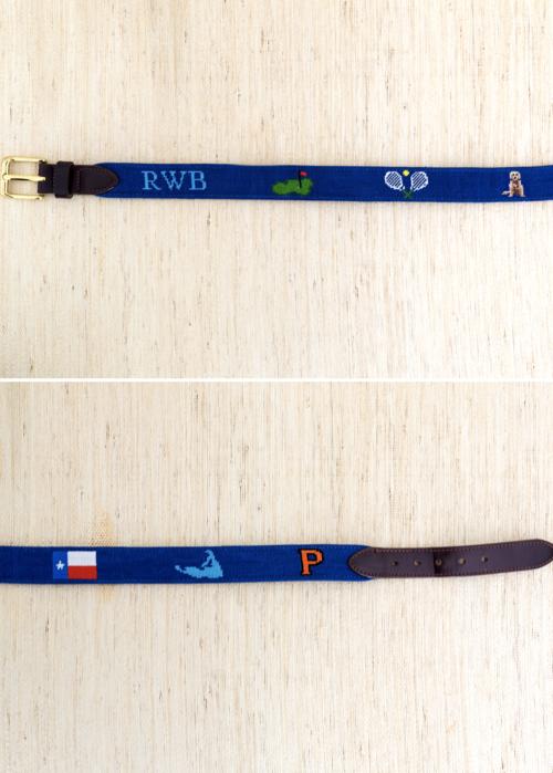 design darling needlepoint belt