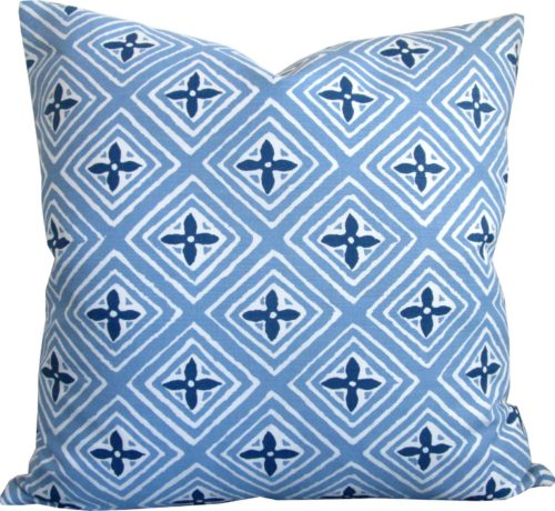 quadrille fiorentina throw pillow