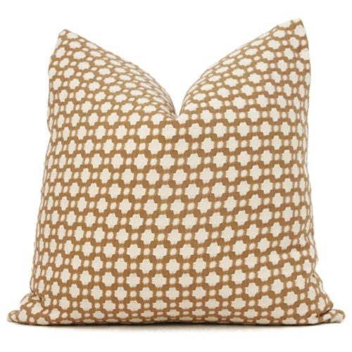 Schumacher Betwixt throw pillow