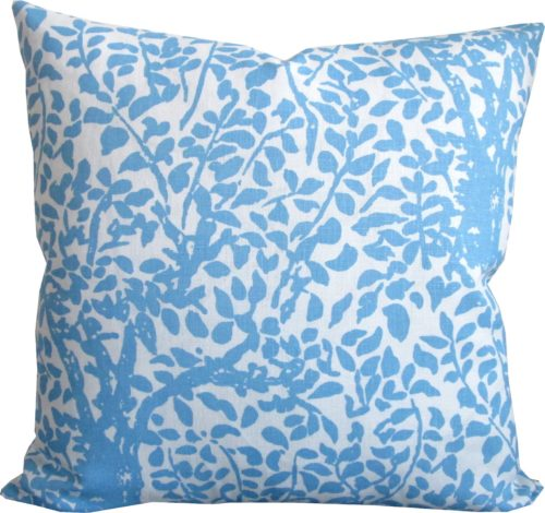 quadrille arbre de matisse throw pillow