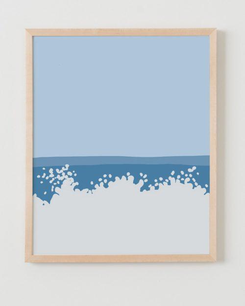 jorey hurley wave print