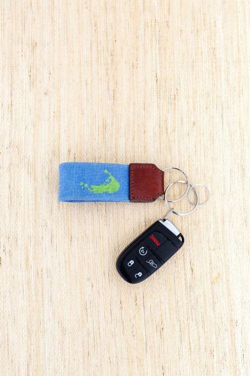 lycette designs nantucket key fob needlepoint canvas design darling