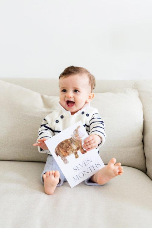 seven month baby update