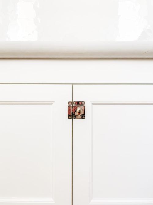 emtek 2270 cabinet latch polished nickel