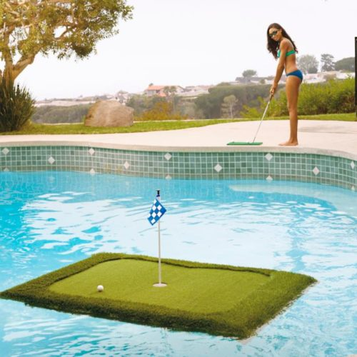 frontgate floating golf green