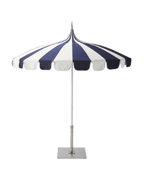 serena & lily eastport striped umbrella
