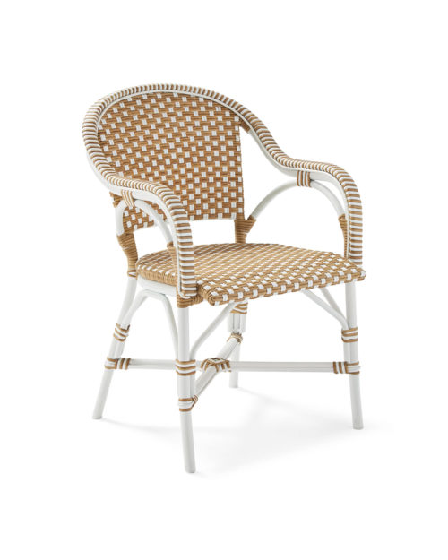 serena & lily outdoor riviera dining chair
