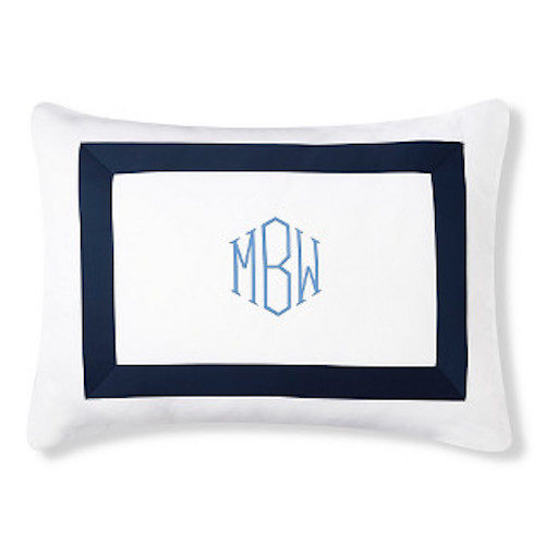 williams sonoma chambers bedding with monogram