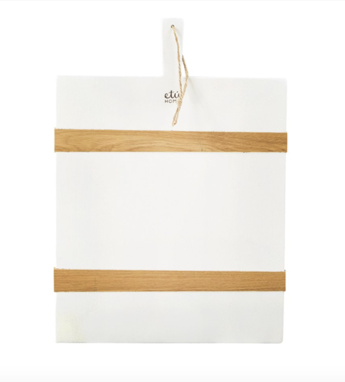 etu home white cutting board