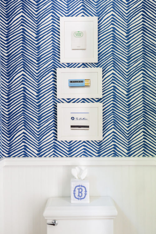 nantucket matchbook prints on quadrille zig zag wallpaper design darling
