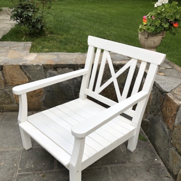 restoring outdoor chair after