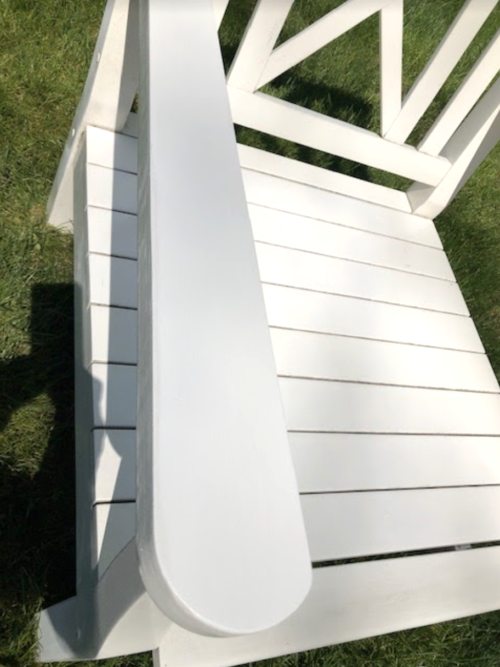 restoring outdoor furniture