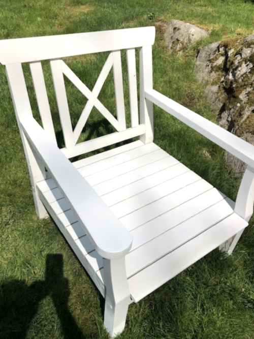 restoring outdoor furniture after
