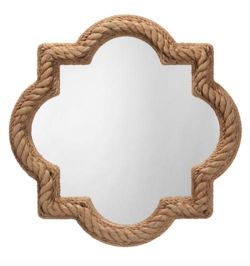 rope quatrefoil mirror cailini coastal