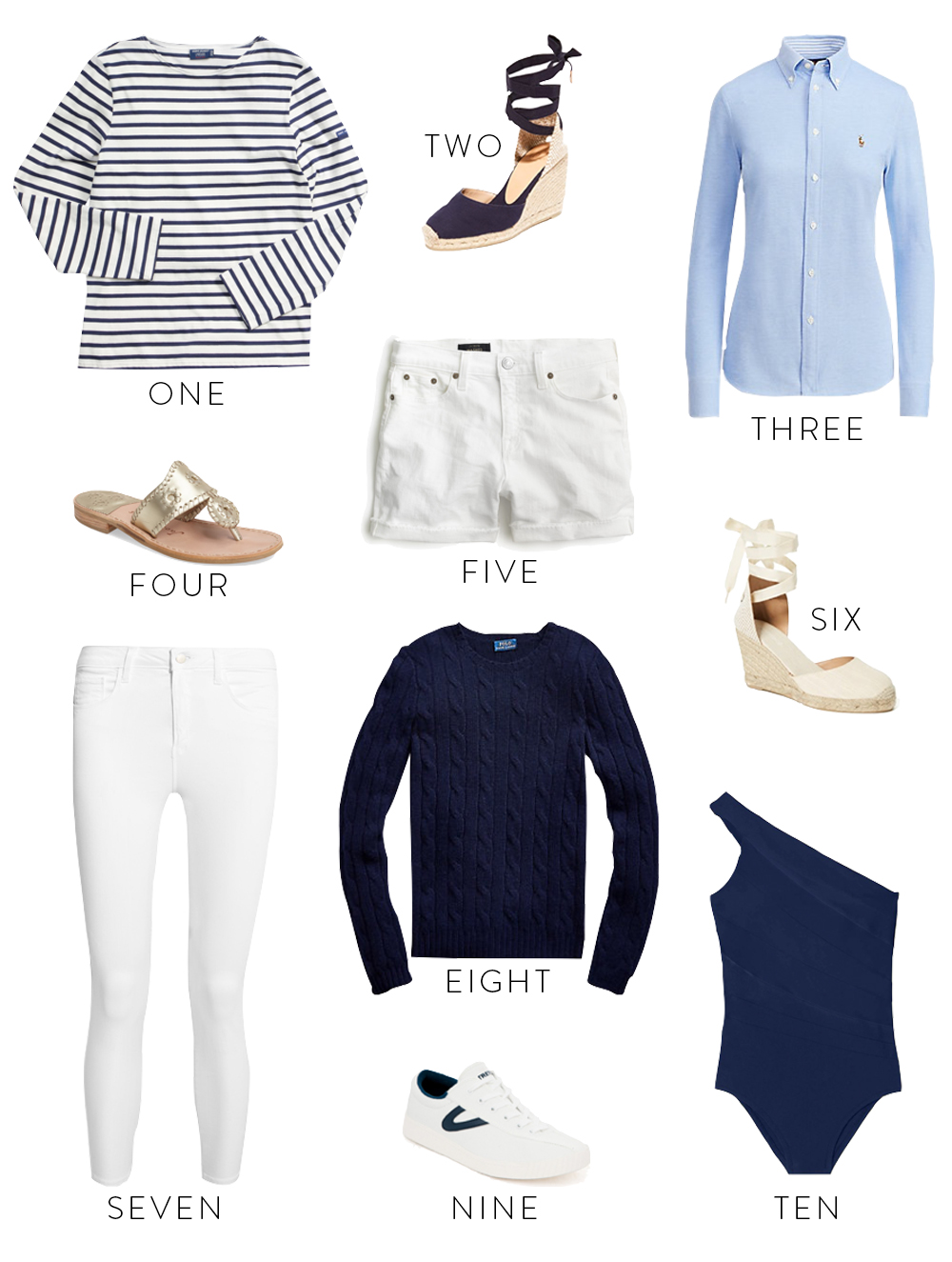 preppy summer staples