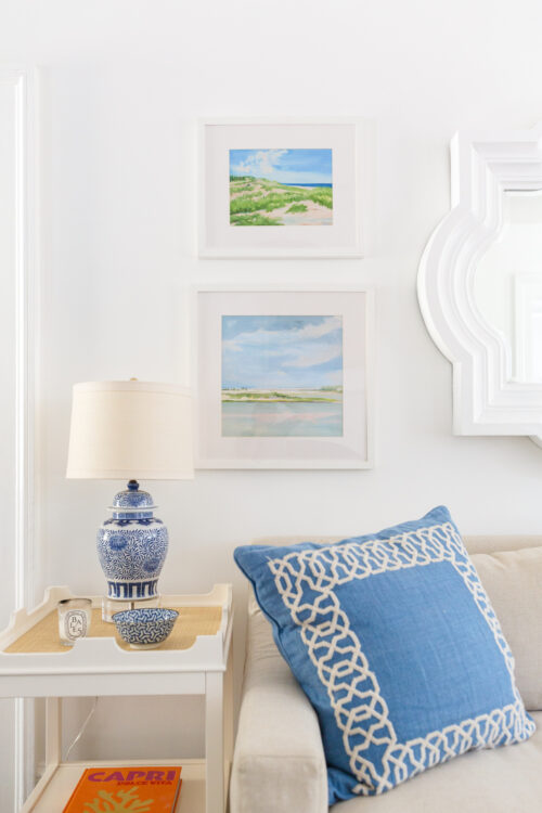 casey chalem anderson prints oomph edgartown side table serena & lily jetty pillow cover