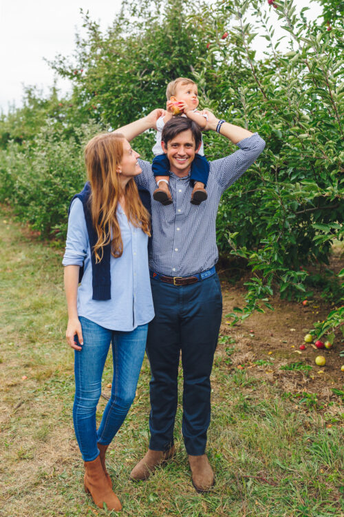 apple picking lyman orchards 1