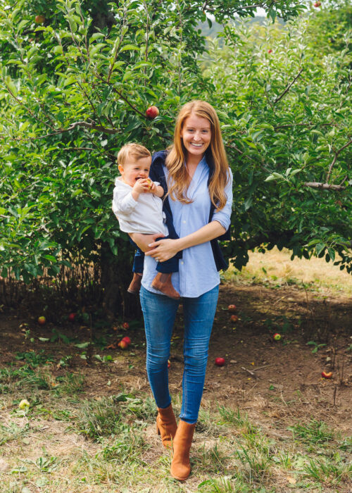 apple picking lyman orchards 6
