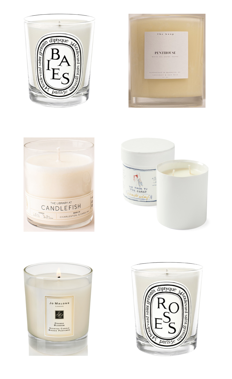 design darling all time favorite candles