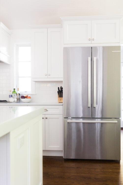 design darling kitchen bosch fridge
