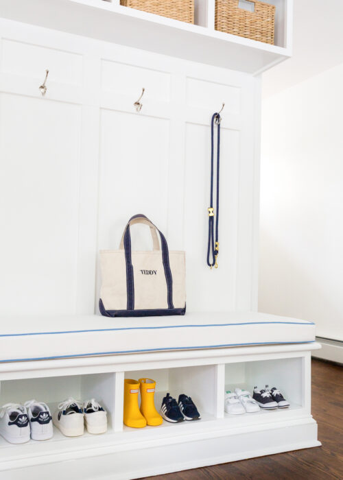 design darling mudroom built-in bench