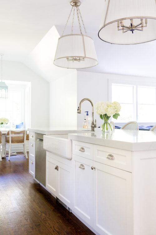 ralph lauren windsor large hanging shades above design darling kitchen island
