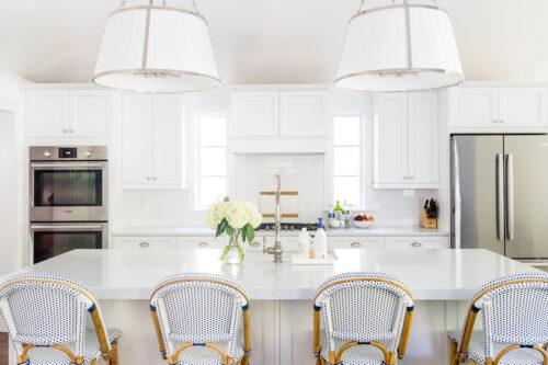 ralph lauren windsor large hanging shades in polished nickel in design darling kitchen