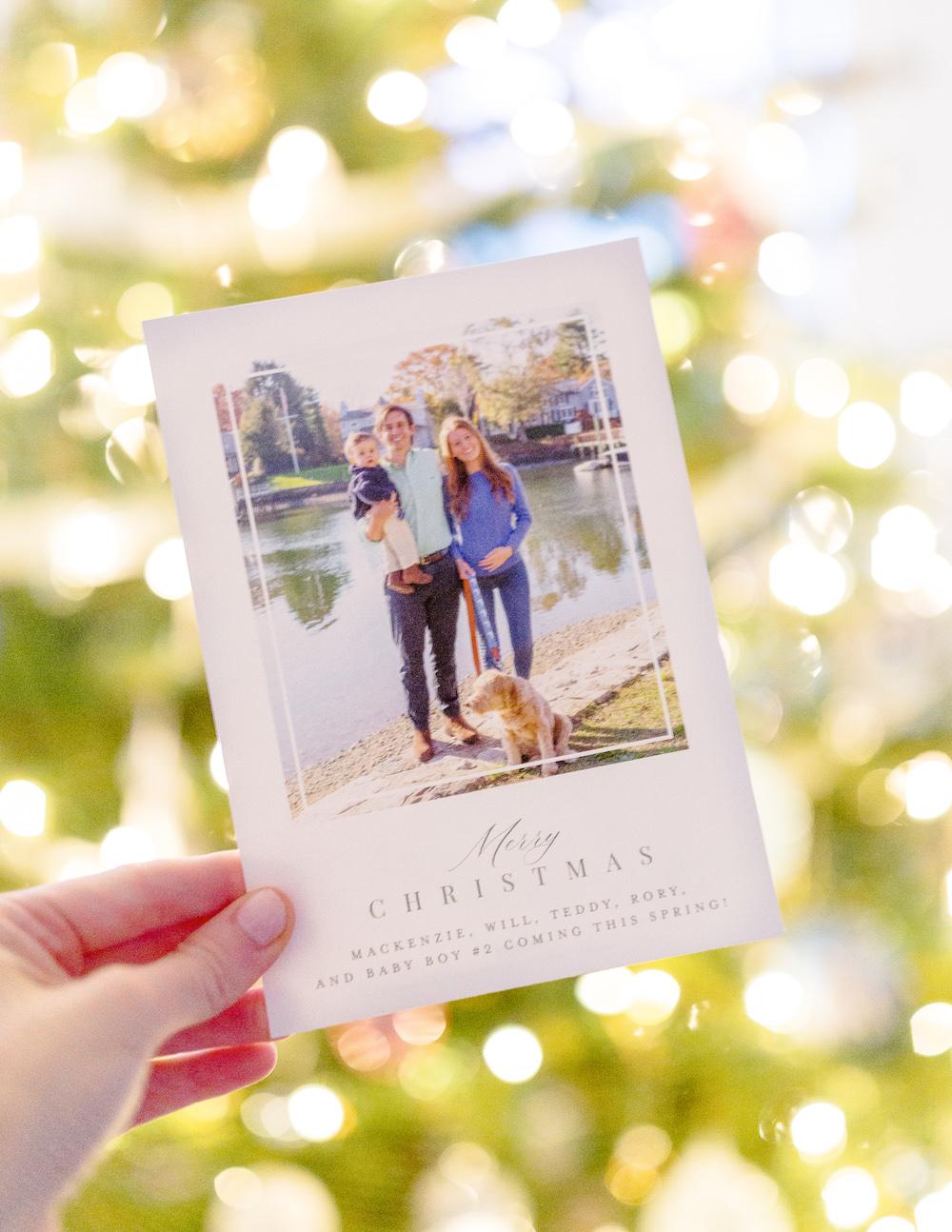 design darling christmas cards 2020