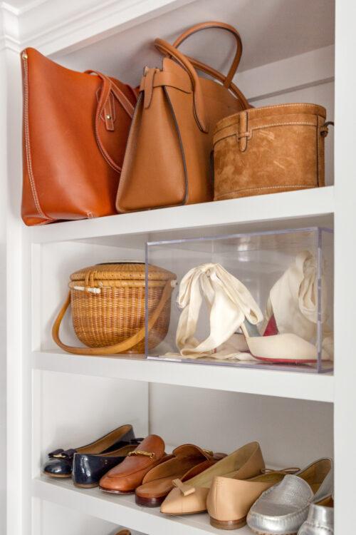 design darling closet acrylic box for wedding shoes