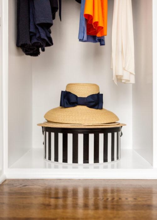 design darling closet hat box