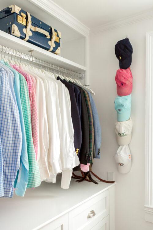 design darling closet hat hooks