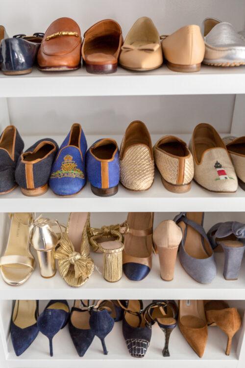 design darling closet shoe shelves