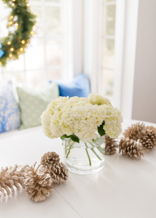 design darling silver pinecones for christmas