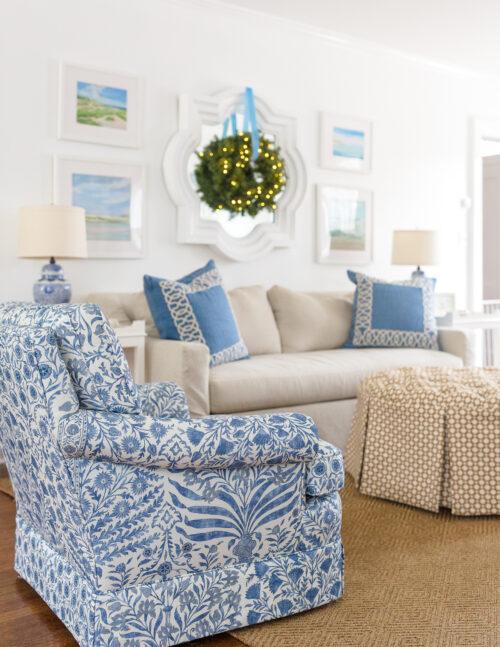 lee jofa sameera fabric on chairs in design darling living room