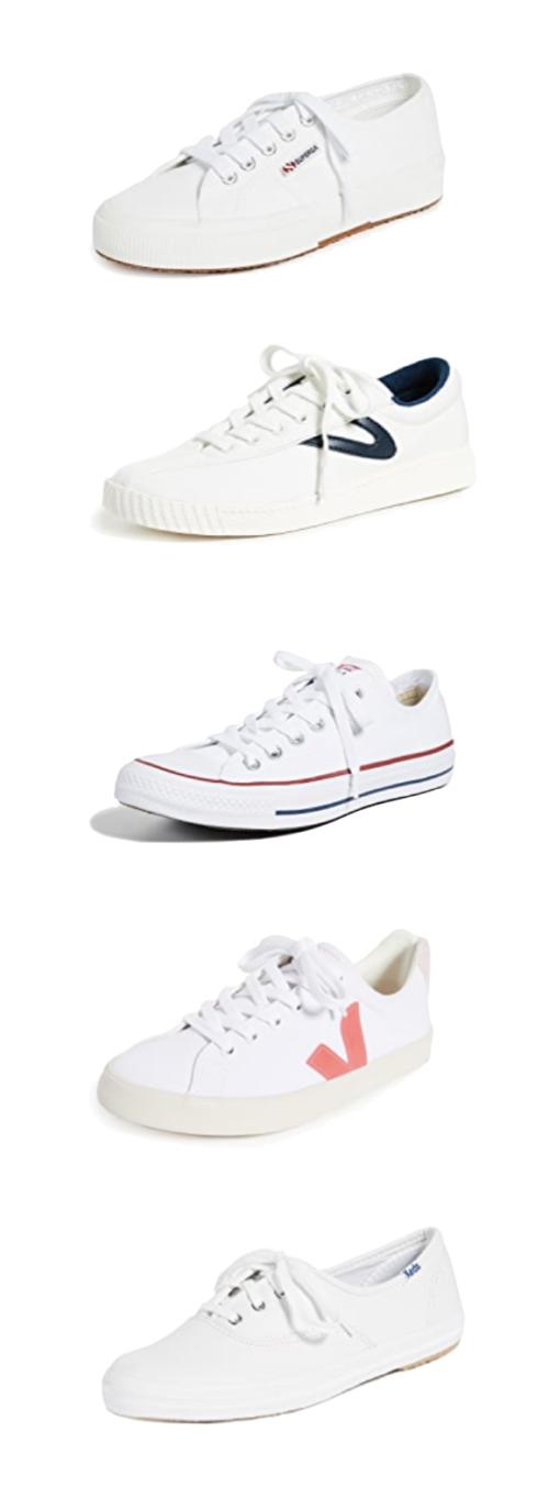 design darling favorite white sneakers