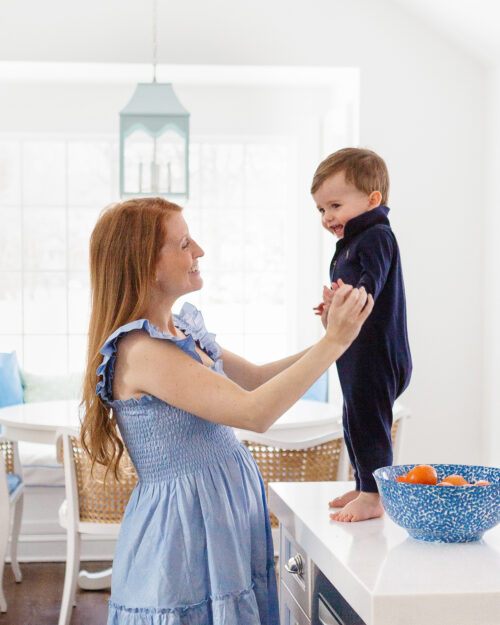 hillhouse nap dress ellie nap dress in light blue glitter check on design darling