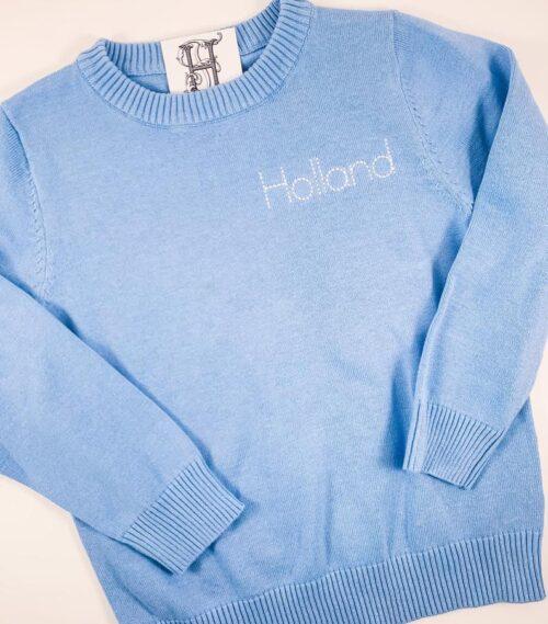 personalized kids sweater