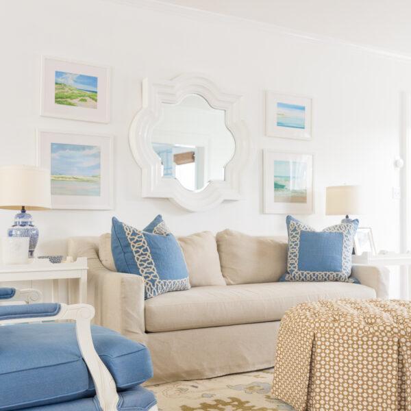 loom & co dean oushak rug in design darling living room