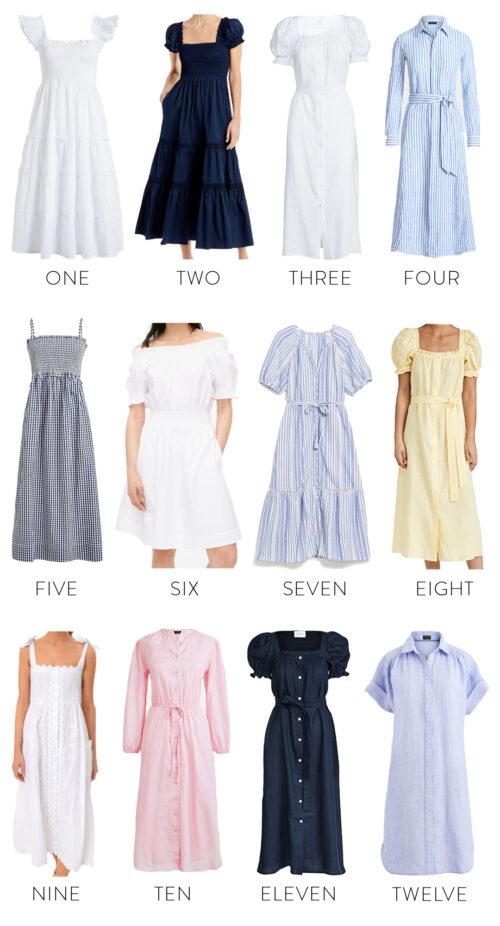 nursing-friendly dresses for summer