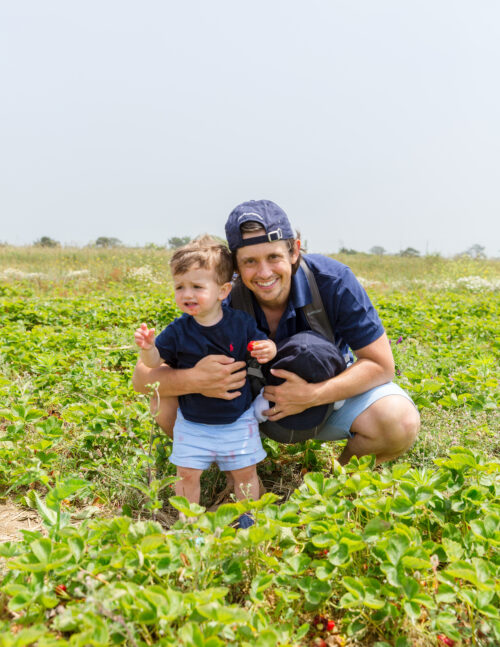 bartlett's farm strawberry picking