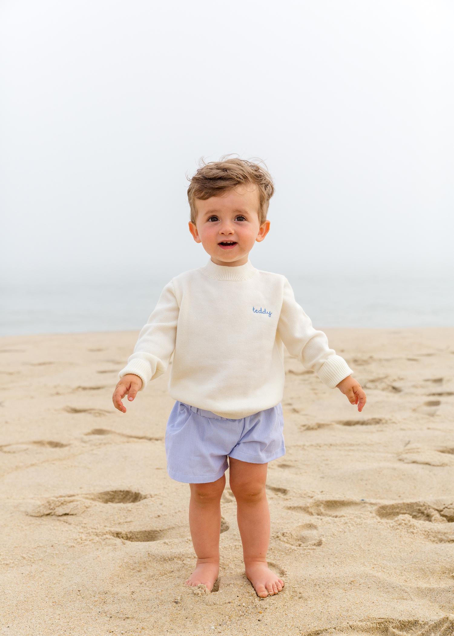 cygnet children's name sweater on design darling 1
