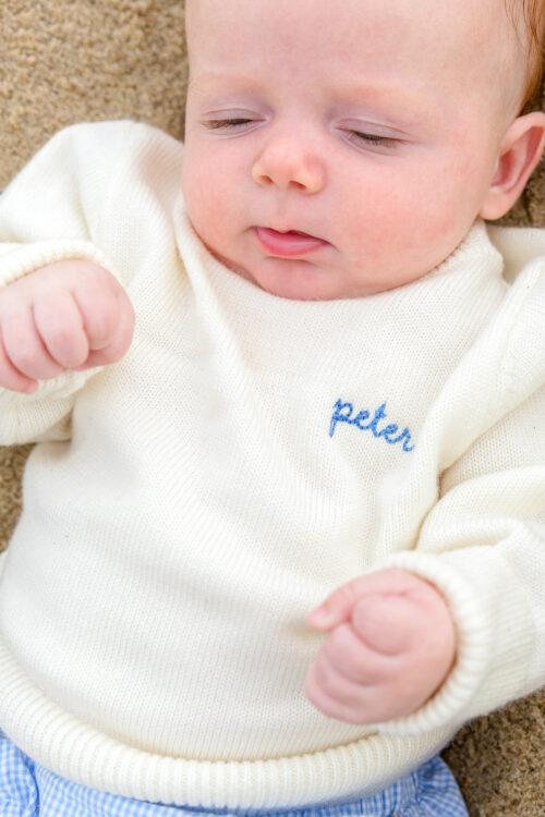 cygnet children's name sweater on design darling 3