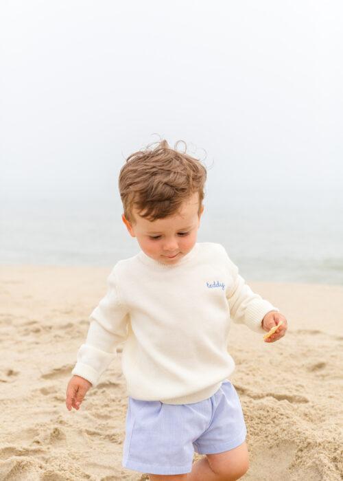 cygnet children's name sweater on design darling 5