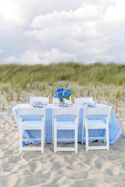 beach dinner nantucket julia amory big sky tablecloth on design darling