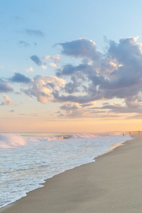 nantucket beach dinner sunset