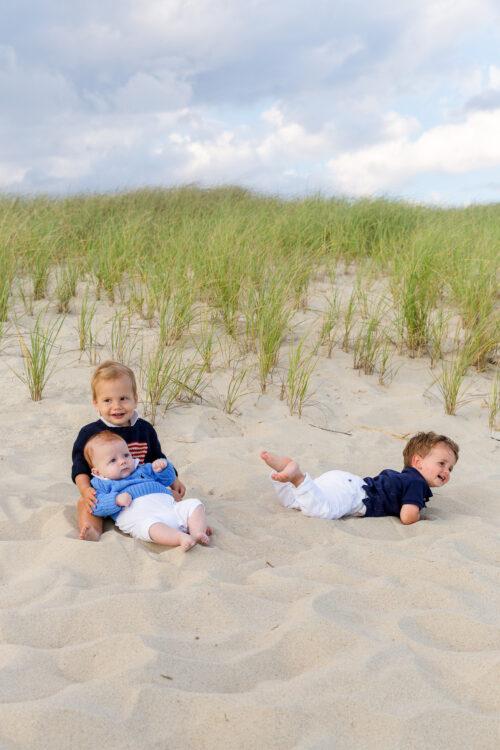 nantucket beach family photos