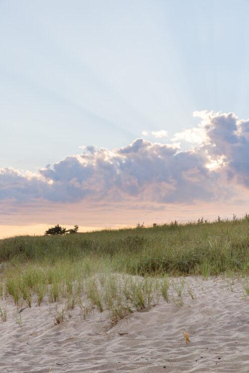 nantucket sunset beach dinner