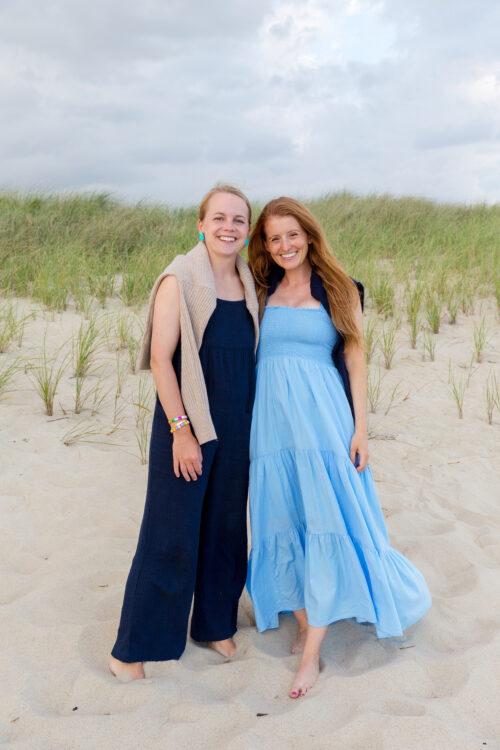 xirena loraine dress nantucket beach dinner party